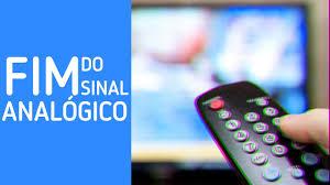 TV e a frase fim do sinal analógico