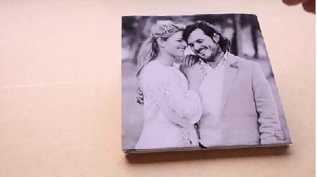 Fotografica de casal que o FrameALIVE transforma em vídeo