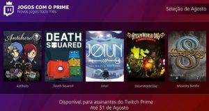 Jogos da Twitch Prime