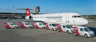 Avião cargueiro da Helvetic Airways