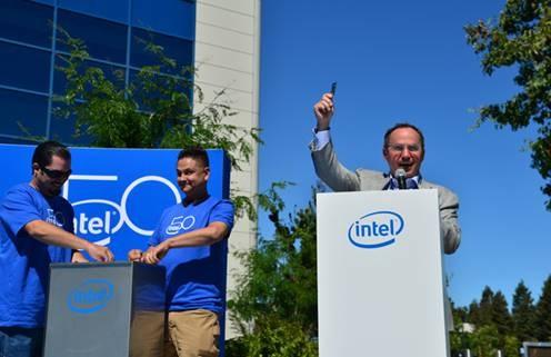 Intel Optame na cápsula do tempo para daqui a 25 anos