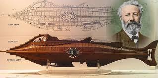 Submario peixe de Julio Verne (cultura Steampunk*