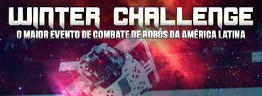 Banner do Winter Cahallenge desafio de robótica