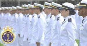 Marinheiros em formação Marinha CAP