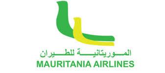 Logomarca da Mauritania Airlines cliente da Embraer