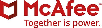 Banner do McAfee proteção de dados
