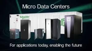 Um dos Micro Data Centers da Schneider