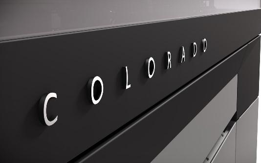 Frente da impressora Océ Colorado