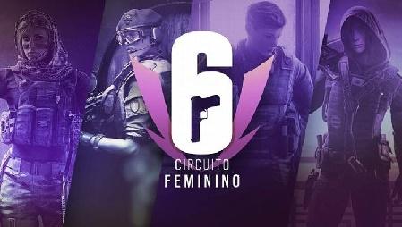 Banner do Rainbow Six feminino
