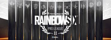 Banner da Rainbow Six Pro League