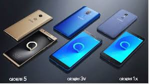 Smrtphones Alcatel e Blackberry
