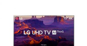 TV LG lançamento de TVs