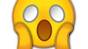 Emoji de boca aberta pasmo