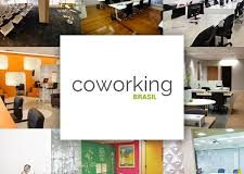 Banner sobre coworking vários ambientes
