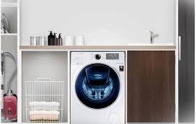 A lavadora AddWash instalada
