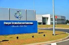 Placa do Parque Tecnológico de Sorocaba