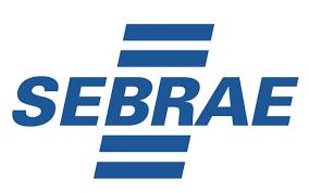 Logotipo do Sebrae participante  da Startups Connected