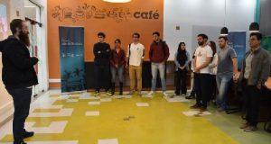 pessoas das startups do programa Crowd