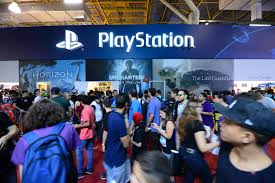 Estande da PS na Brasil Game Show