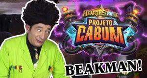 Banner do projeto Cabum no retorno de Beakeman