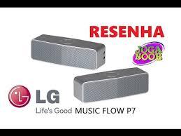 Banner da LG Caixas com Bluetooth