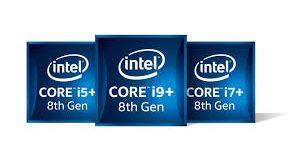 Caixas com processadores Intel