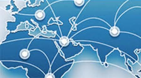 Representação de Relocation deslocamento em mapas