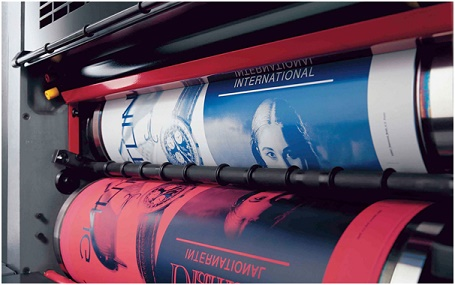 Impressora de grande formato de gráfica rápida