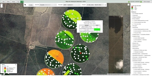 Imagens capturadas por drones