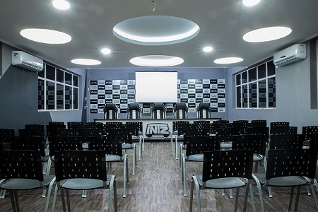 Vista de outra sala gaming house da INTZ