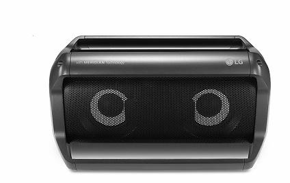 Caixa LG com Bluetooth
