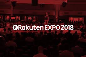 Banner da Rakuten EXPO 2018