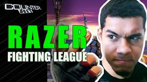 Banner da Razer Fighting League