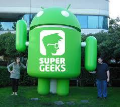 Logomarca com Robô SuperGeeks