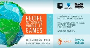 Banner divulgação evento SAGA no Recife