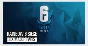 Banner do Six major competição Rainbow Six