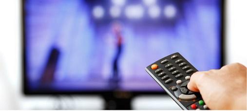Tela com vídeo on damand