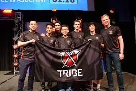 A equipe de e-Sports Tribe Gaming