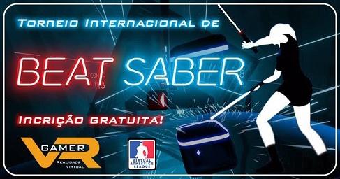 Banner do torneio Torneio Beat Saber