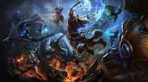 cena do game League of Legends