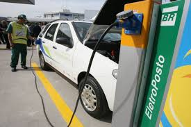 Eletro posto recarga carro elétrico