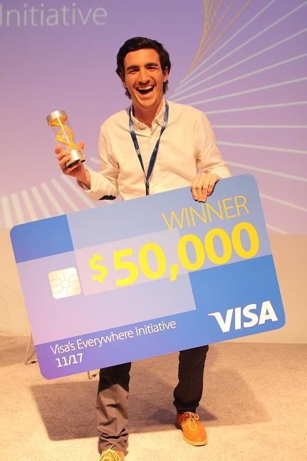 Ganhador da Everywhere Initiative da Visa anterior