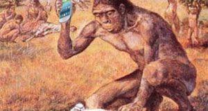 macaco e smartphone internet das coisas