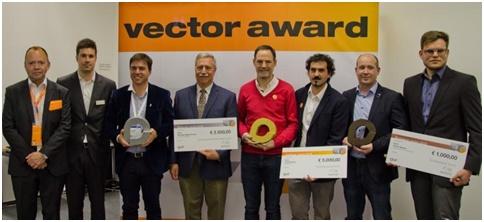 Premiação da Vector em robótica