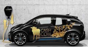 BMW i3 do projeto ChargeForward