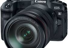 A câmera Canon EOS R