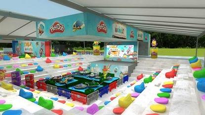 Cidade do futuro da Play-Doh