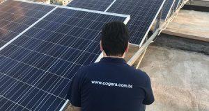 Painési fotovoltáicos para energia solar