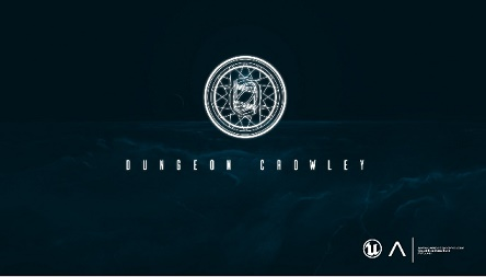 Banner do Dungeon Crowley game a ser lançado
