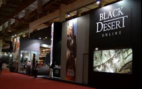 Estande do Black Desert na BGS 2017